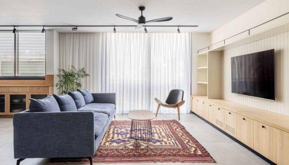 איך לבחור את מאוורר התקרה המתאים לסלון?