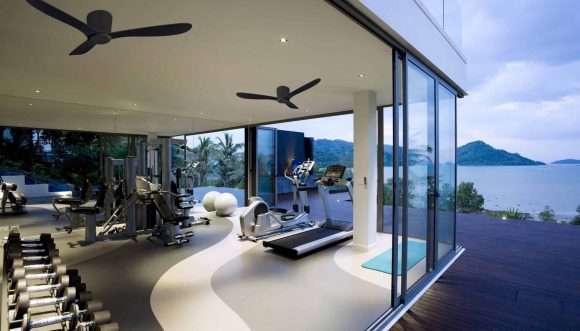 למה חשוב להתקין מאוורר תקרה בחדר הכושר הביתי?