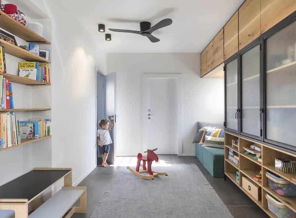 מאוורר תקרה לחדר ילדים ונוער